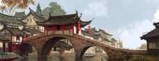 中国风概念场景设定