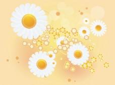 唯美太阳花背景素材