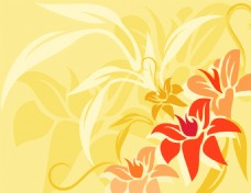 矢量花瓣素材背景