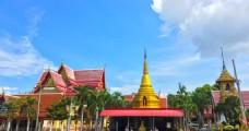 泰国 曼谷 四面佛旁边的建筑