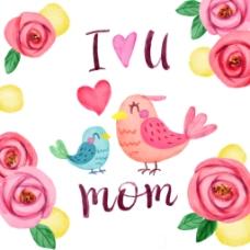 母亲节节日海报