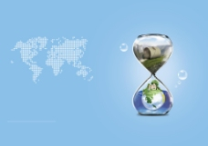 环保画册封面背景