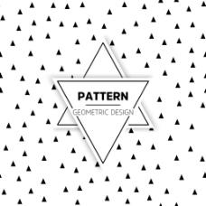 现代三角形装饰图案