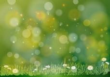 清新春季花朵背景