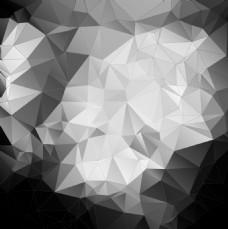 黑白多边形EPS