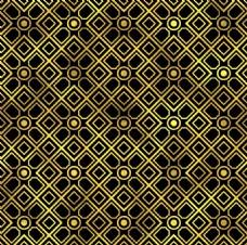 金色几何创意背景