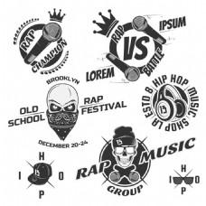 音乐骷髅图案图片