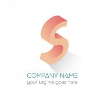 创意字母S标志logo设计