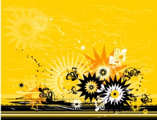 菊花花卉素材背景