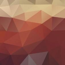 深红色多边形背景