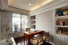 现代家居书房装修效果图