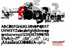 特殊字体下载 打包tts字体下载