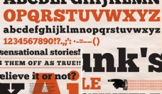 英文设计字体下载