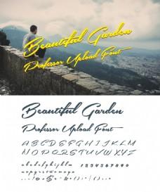 国外设计中常用的英文字体