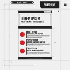 新闻报纸排版设计模板矢量素材
