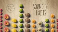 简单水果排版时尚海报