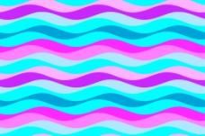 彩色波纹线条花纹背景