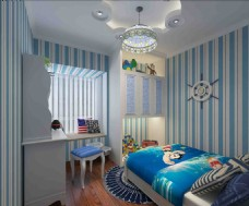 小孩房3D模型