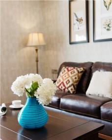 美式室内小清新茶几设计图