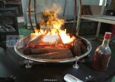 篝火壁炉  户外火盆