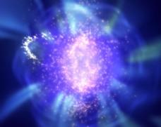 蓝紫闪光视频背景视频素材