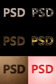 六款字体无需大改就能有好看的字体效果