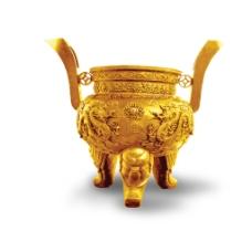 金黄色的鼎