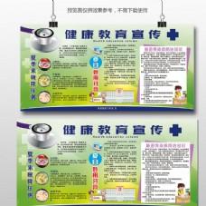绿色健康教育宣传栏
