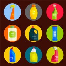 清洁剂图标图片