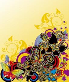 花纹装饰素材背景