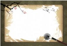 中国风水墨画背景