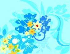 花卉素材背景设计