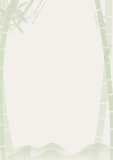 灰色展板背景图竹子素材