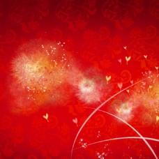 大气红色背景图