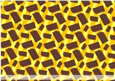 矢量巧克力背景素材