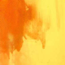 抽象橙色水彩背景