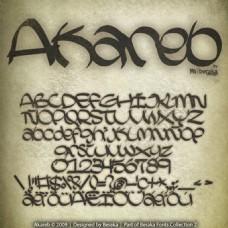 艺术字体 特殊字体 tts打包下载