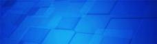 简约蓝色方块背景图