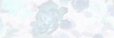 淡蓝色水墨花朵背景图