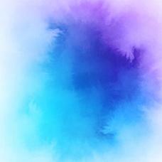 蓝调色调水彩背景