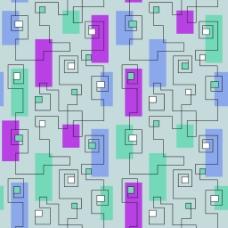 矢量线框花纹素材背景