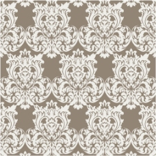 白色棕色豪华装饰花纹背景