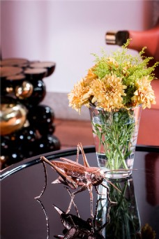 美式餐桌装饰品图片