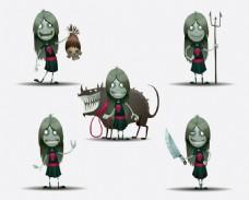 骷髅幽灵图片