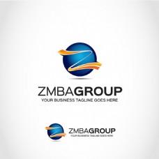 Z字母标志logo设计