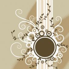 花纹花边素材背景