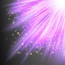紫色光线背景
