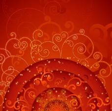 花纹圆环背景设计