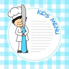 矢量卡通厨师EPS