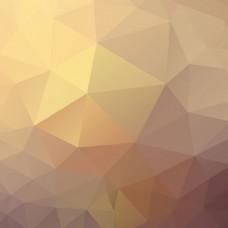 灰橙色多边形背景